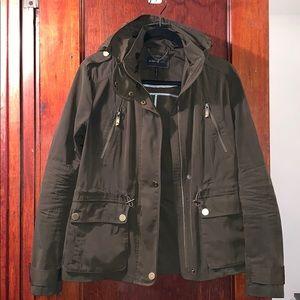 BCBGMaxAzria rain jacket